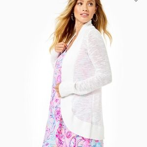 Lilly Pulitzer The Amalie Open- Front Cardigan